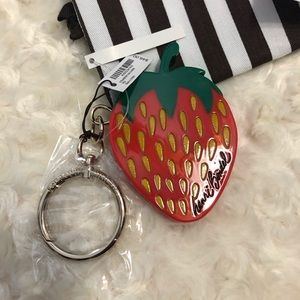 Strawberry Key charm
